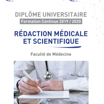 DU « REDACTION MEDICALE ET SCIENTIFIQUE »